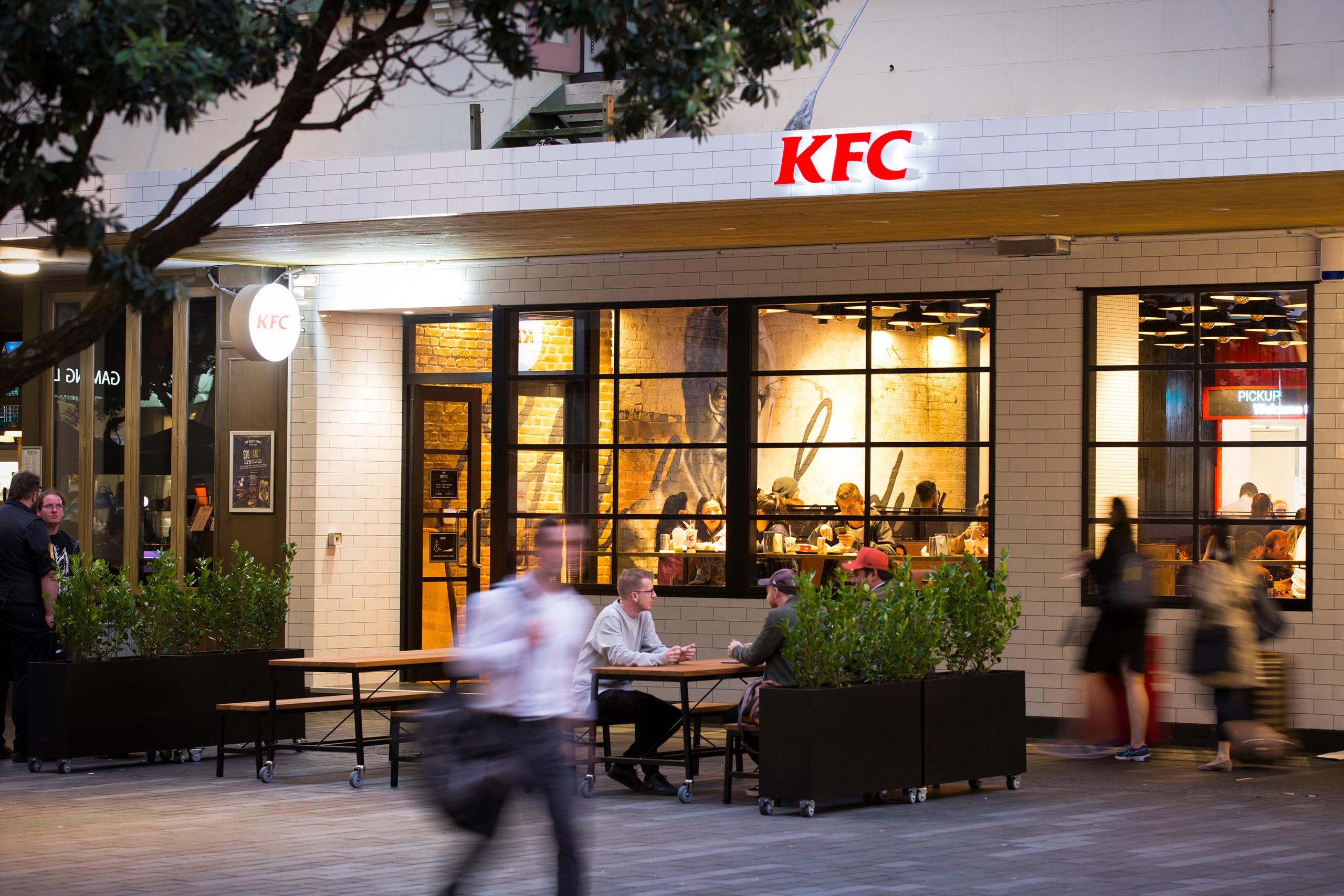 KFC Fort St Work
