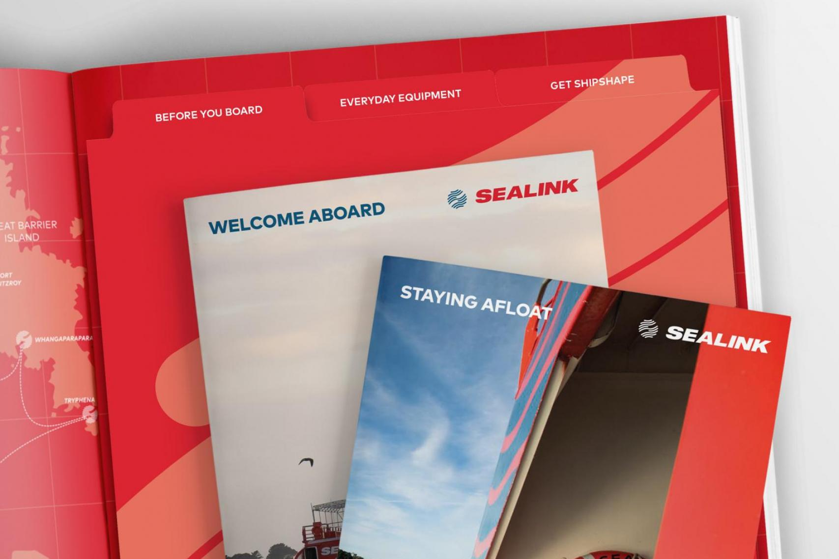 SeaLink Induction Pack